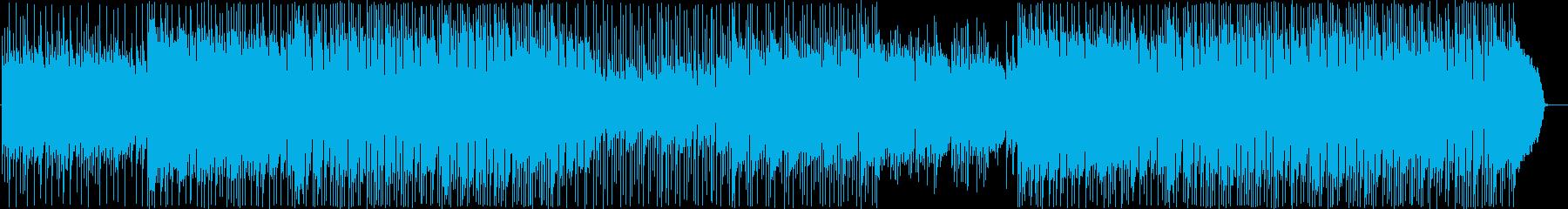 アコギのアンサンブル、さわやか系の一曲の再生済みの波形