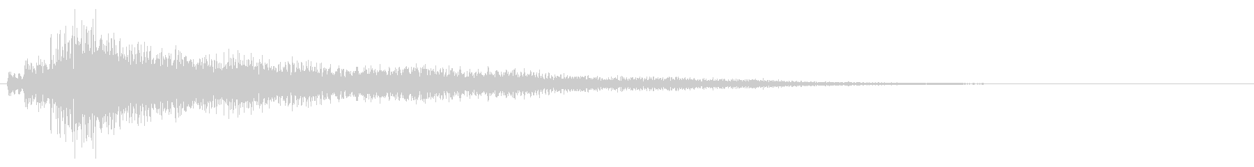 ニュース・ジングル・場面転換・決定音01の未再生の波形