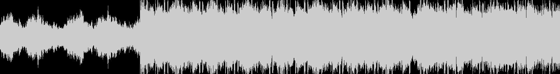 ループ仕様・クール・ピアノ・HIPHOPの未再生の波形