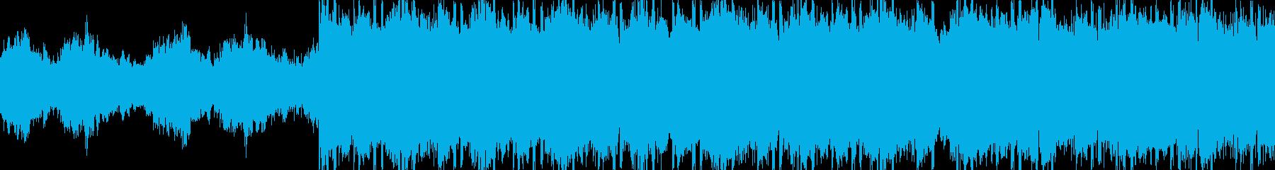 ループ仕様・クール・ピアノ・HIPHOPの再生済みの波形