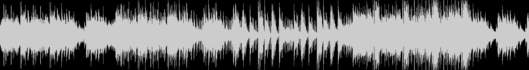 ピアノが印象的な切なく落ち着いたBGMの未再生の波形