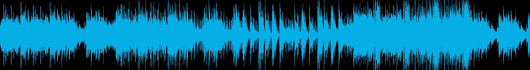 ピアノが印象的な切なく落ち着いたBGMの再生済みの波形