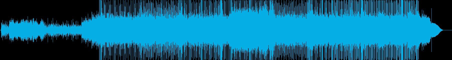 Riifループの繰り返し。歪んだ、...の再生済みの波形