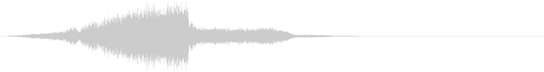 【RISER】場面切り替え時の効果音の未再生の波形