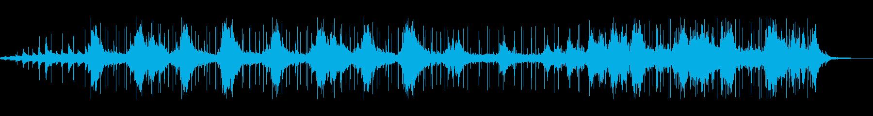 アコギが映えるアンビエントチルBGMの再生済みの波形