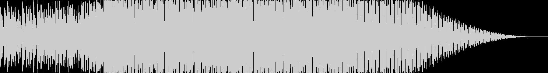明るくかわいいハードコアEDMの未再生の波形