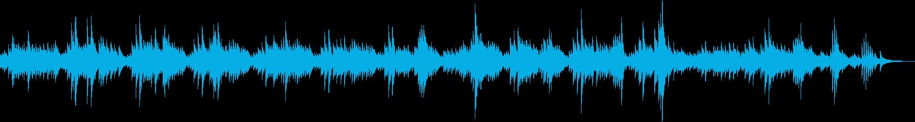 悲しいピアノBGM(切ない・シンプル)の再生済みの波形