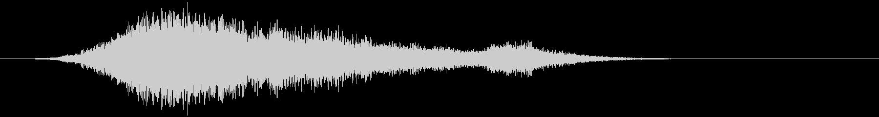 【ホラー】SFX_41 出没の未再生の波形
