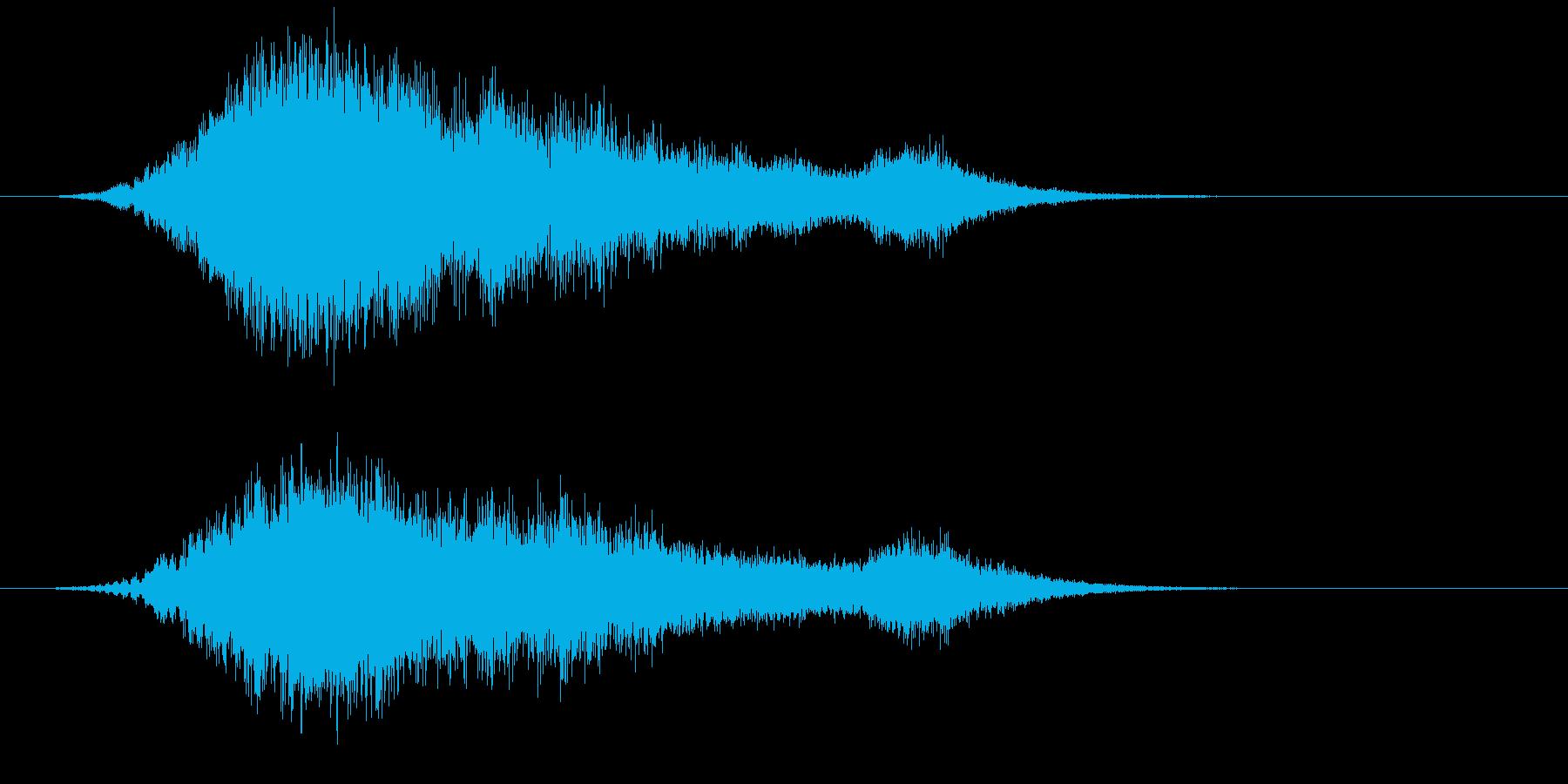 【ホラー】SFX_41 出没の再生済みの波形