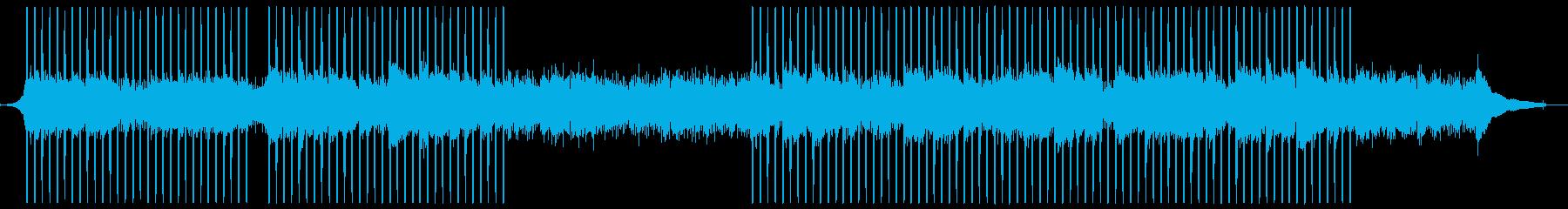 躍動感あふれるアコースティックインディーの再生済みの波形
