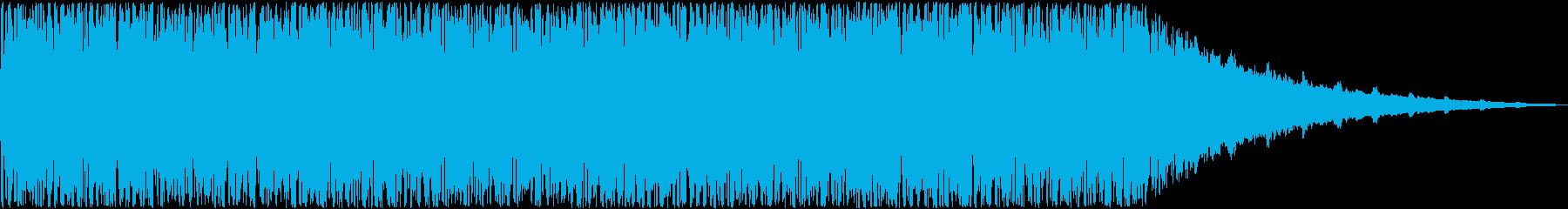 パーティーの告知映像、イベントBGM等の再生済みの波形