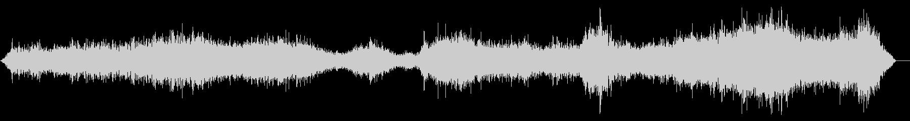 リバーブを介した奇妙な音声効果、そ...の未再生の波形
