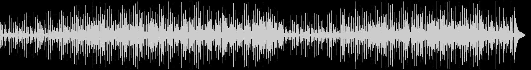 キラキラ可愛いモフモフした印象のBGMの未再生の波形