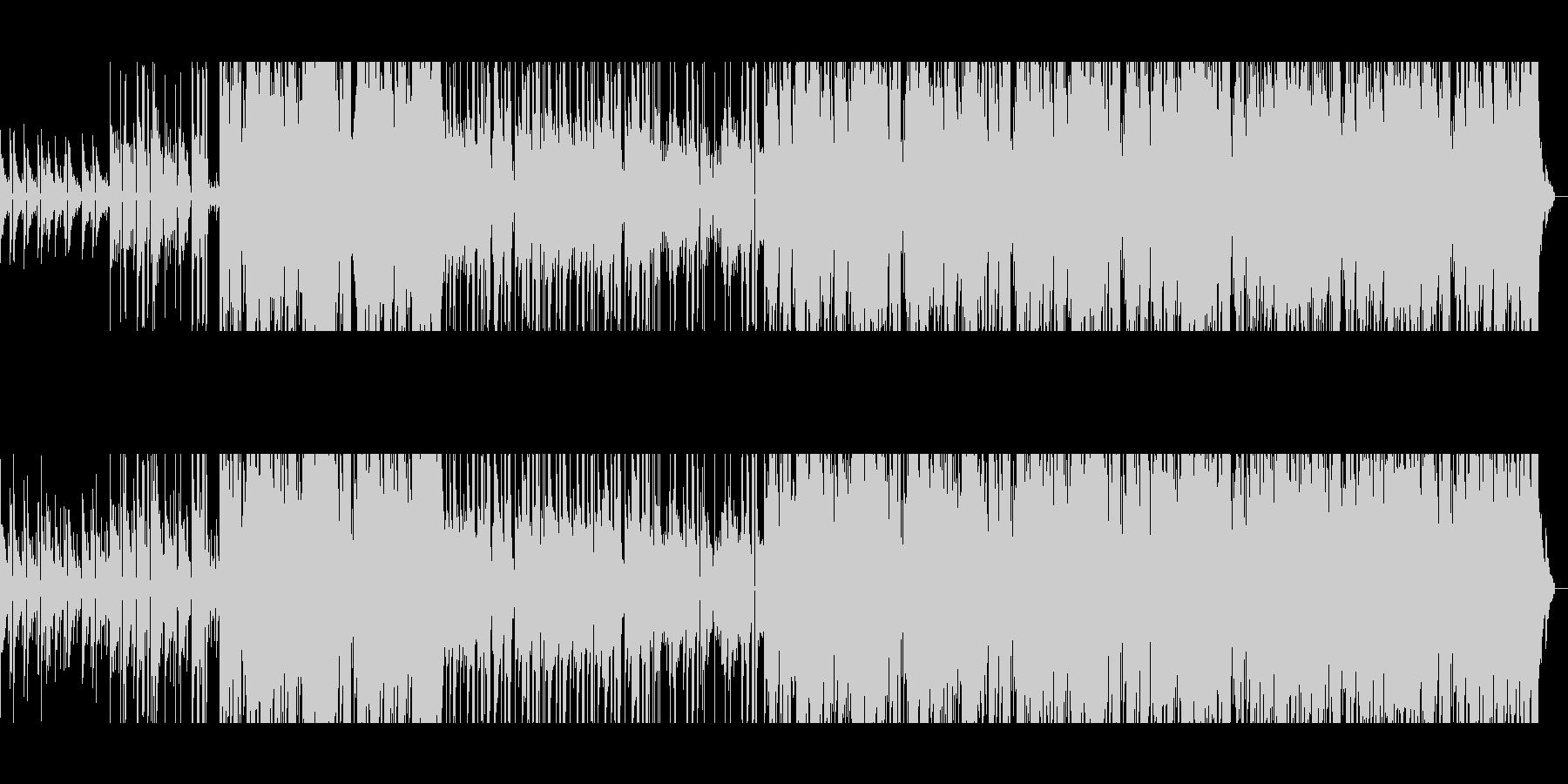 【短いVer1】80年代風洋楽バラードの未再生の波形