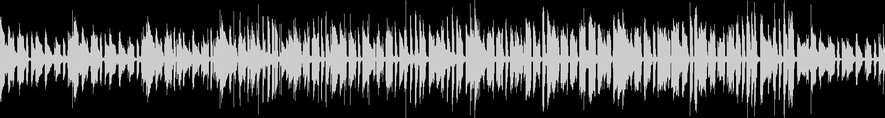 トロンボーンのメロディーの未再生の波形