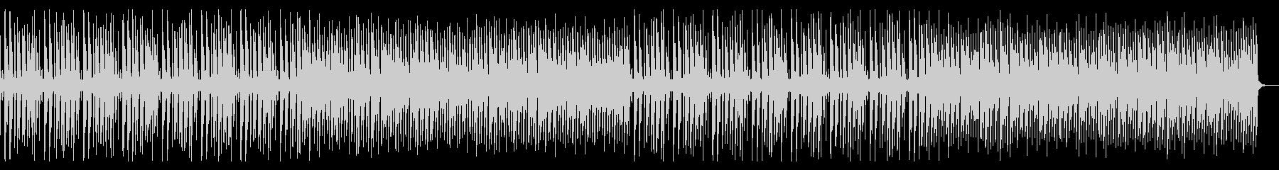 軽快なリズムの8ビット、チップチューン系の未再生の波形