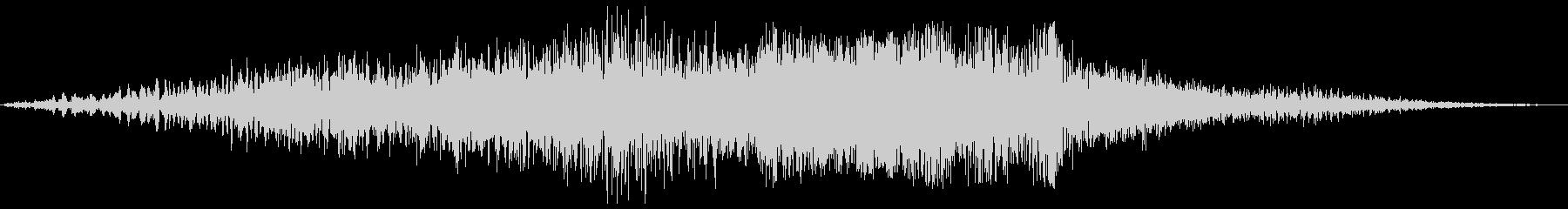 ボァ〜バァ〜(素敵な物が現れるような音)の未再生の波形