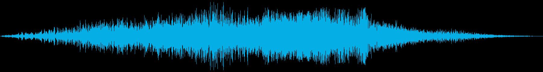 ボァ〜バァ〜(素敵な物が現れるような音)の再生済みの波形