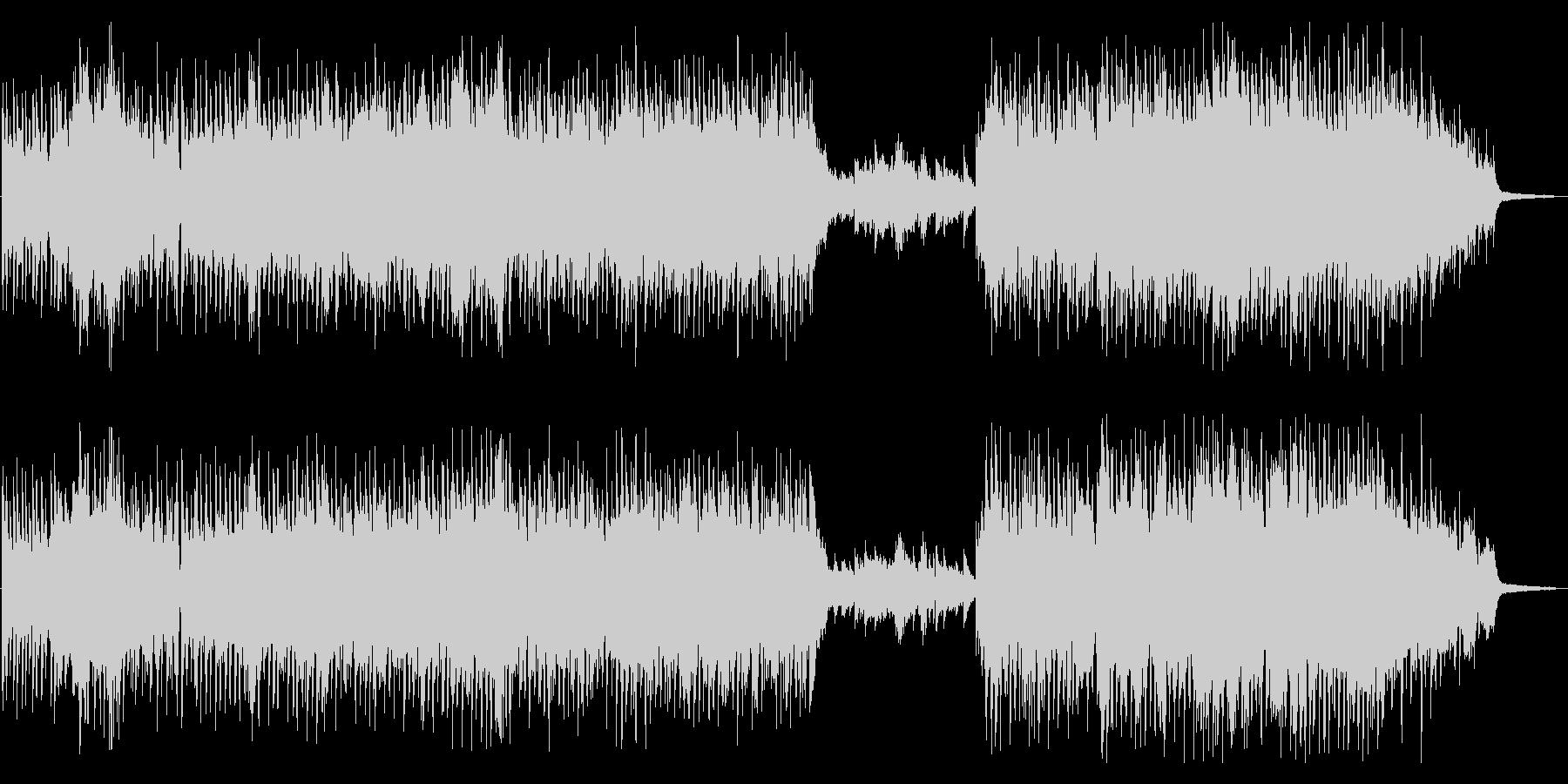 カーテンコール_ブラスとピアノが駆け巡るの未再生の波形
