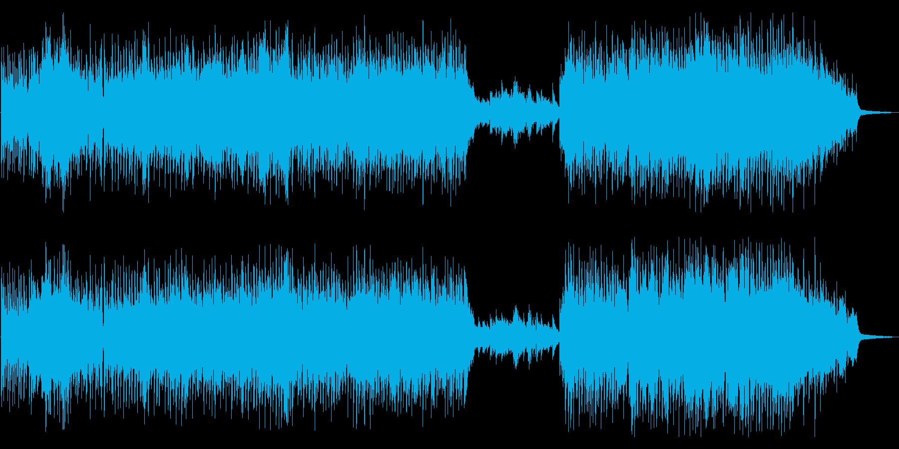 カーテンコール_ブラスとピアノが駆け巡るの再生済みの波形