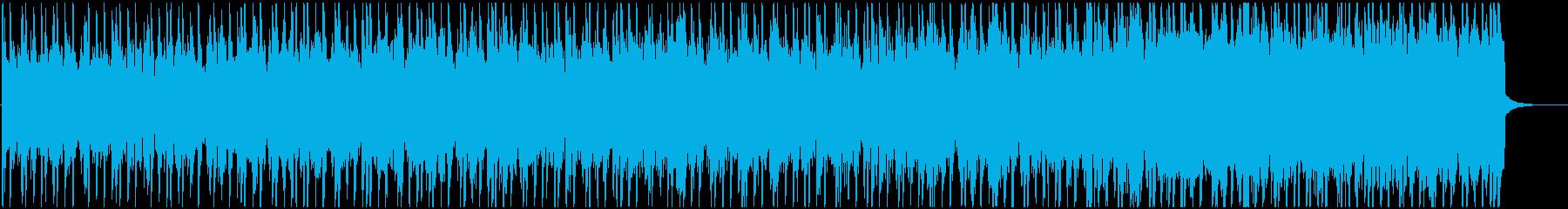 都会的、クールでスムースなドラムンベースの再生済みの波形