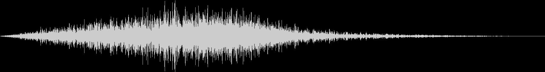 スワイプ 01 シュワーッの未再生の波形