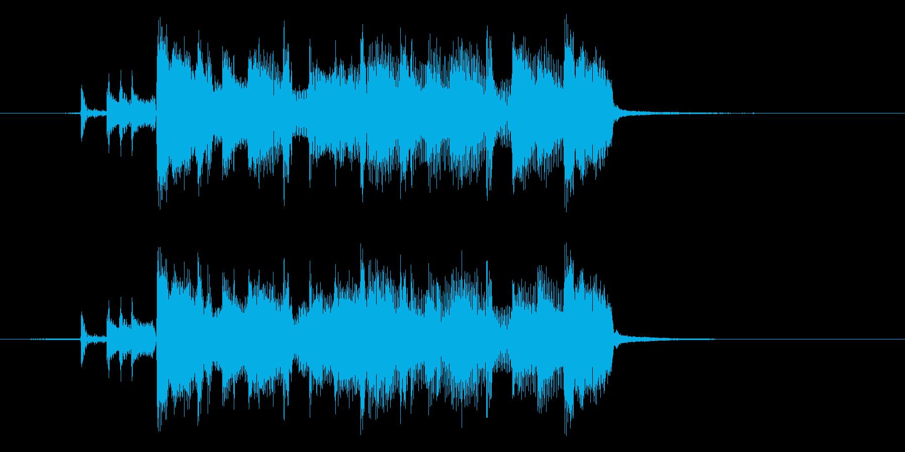 歌姫の再生済みの波形
