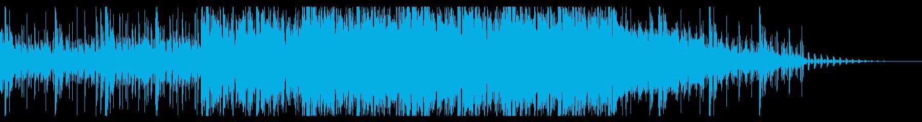 ビリープを繰り返す、アンビエントIDMの再生済みの波形