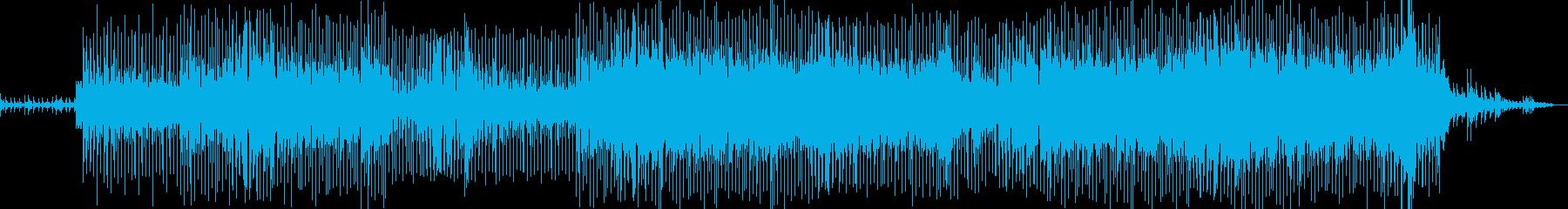 地下鉄で生まれた地中海の音の再生済みの波形