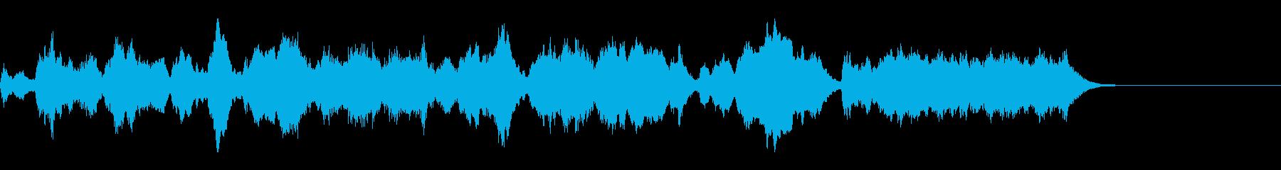 目標を達成し鳴るファンファーレ/ジングルの再生済みの波形