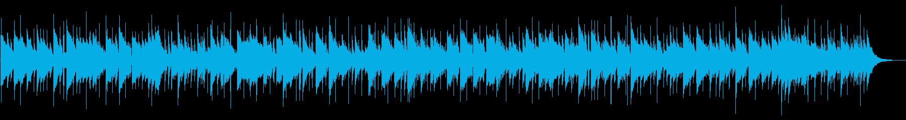 スローなカントリーバラードの再生済みの波形