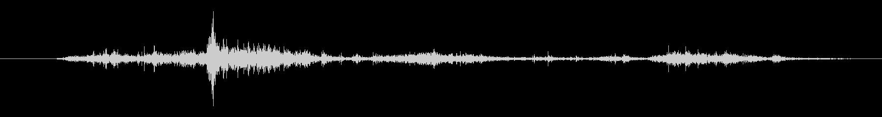ゴミ シャベルディグ02の未再生の波形
