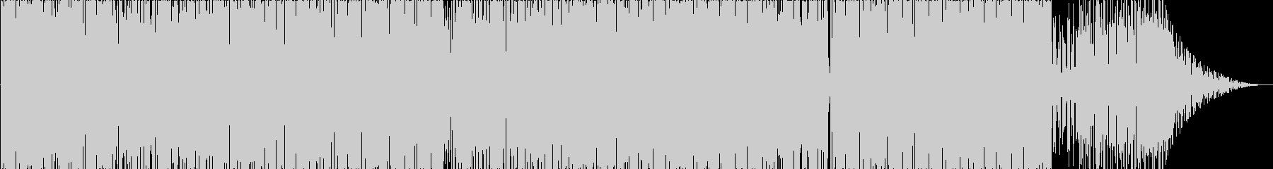 生トランペットの泥臭いファンクトラックの未再生の波形