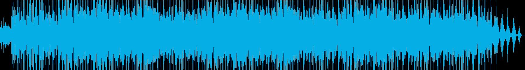 大人なメロウヒップホップトラックの再生済みの波形