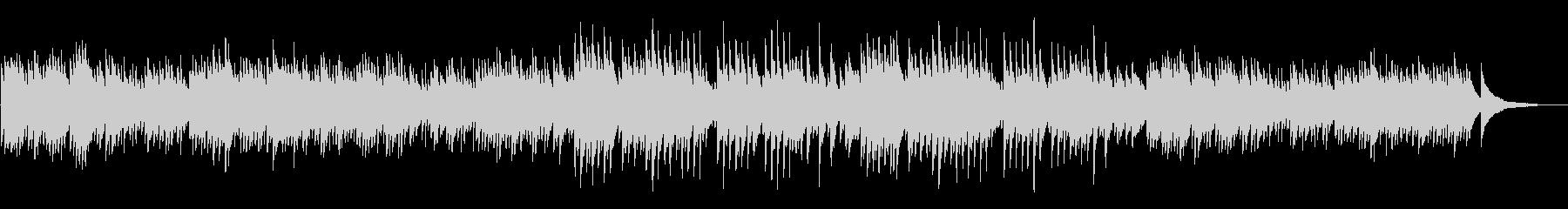 癒しアンビエント睡眠系ヒーリングピアノの未再生の波形