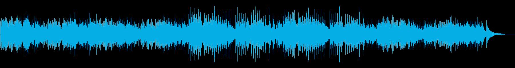 癒しアンビエント睡眠系ヒーリングピアノの再生済みの波形