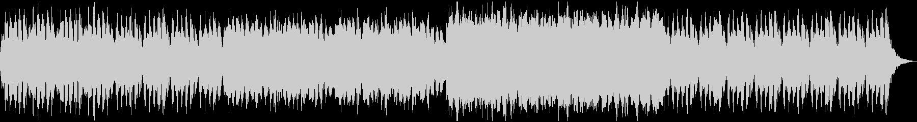 オーケストラによる怪しげなBGMの未再生の波形