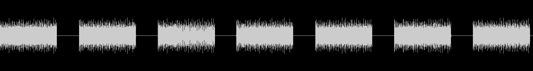 過酷なループバズウォッシュスペース...の未再生の波形