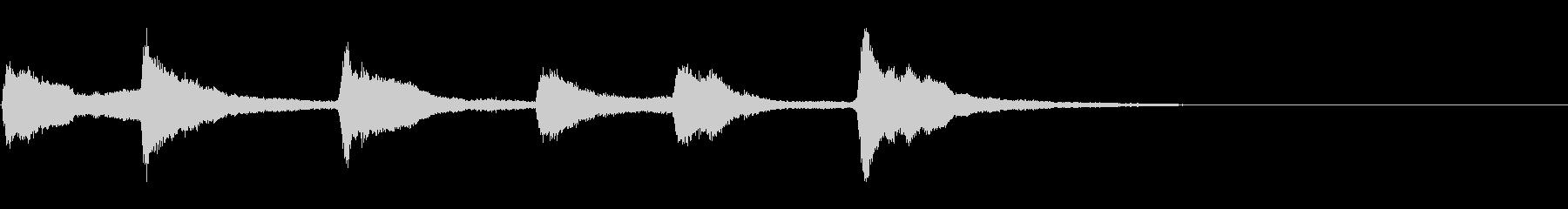 教会の鐘2 (カーン…カーン…カーン…)の未再生の波形