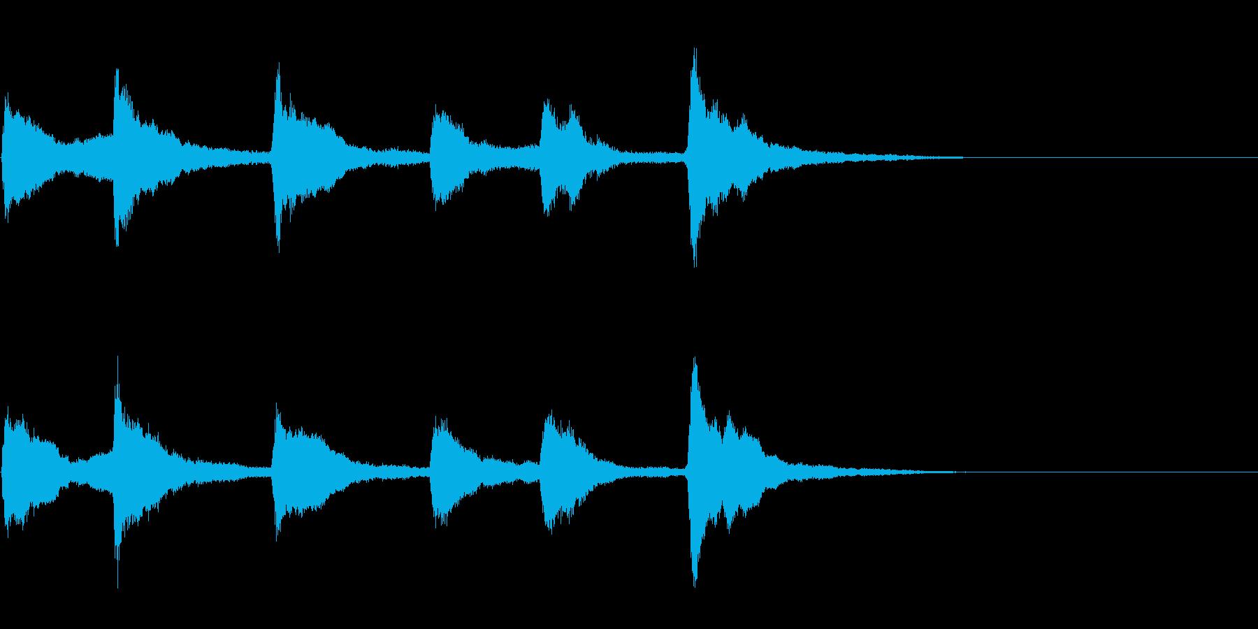 教会の鐘2 (カーン…カーン…カーン…)の再生済みの波形