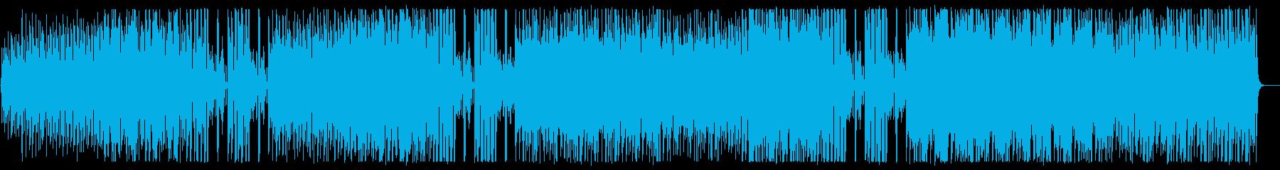 軽快に刻まれる心地よいメロディの再生済みの波形
