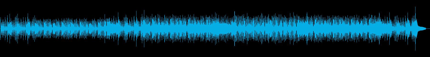 Positive Whistlingの再生済みの波形