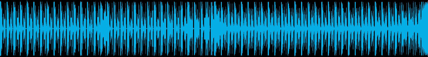 ループ,シューティング,シンプルBGMの再生済みの波形