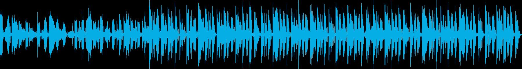 (loop)朗らかエレポップの再生済みの波形