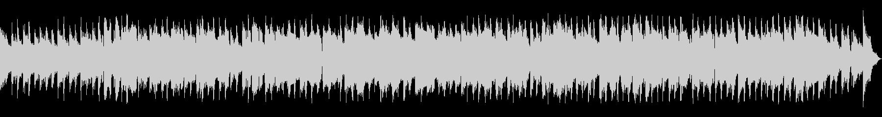 サックスがメインの日常系ジャズの未再生の波形