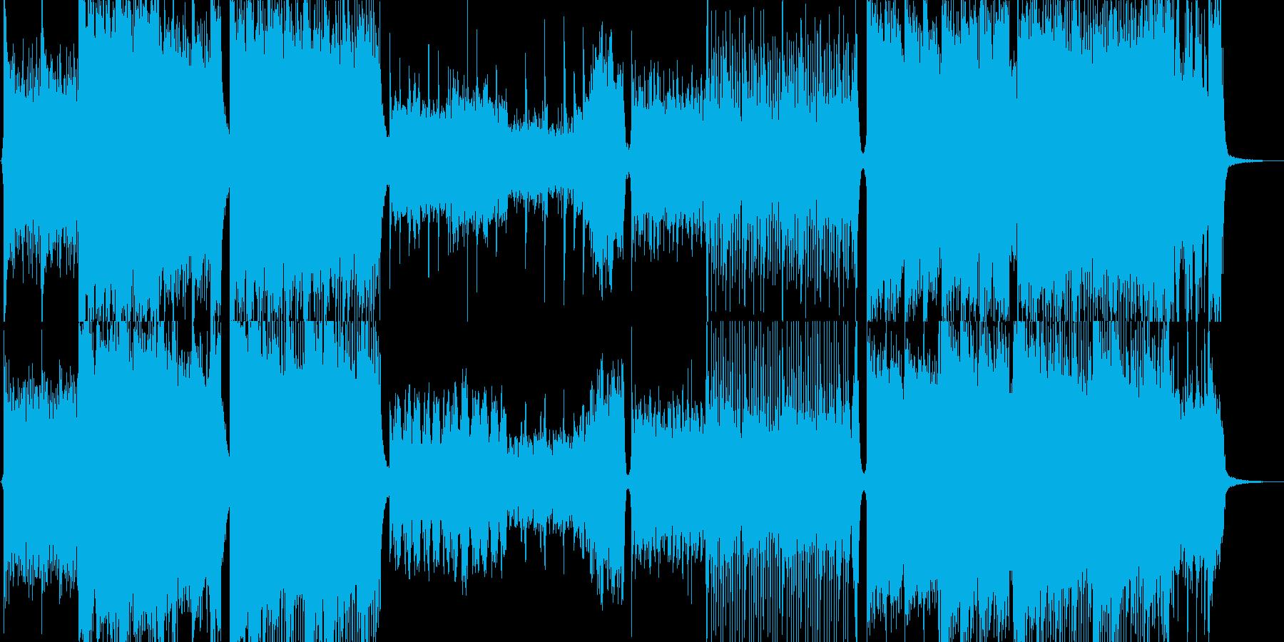 Overture-華やかなオーケストラ曲の再生済みの波形