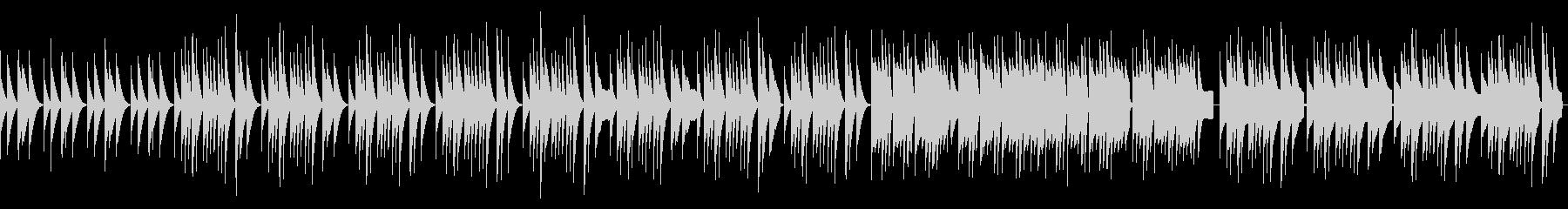 【リズム抜】木琴と鍵盤ハーモニカのほのぼの未再生の波形