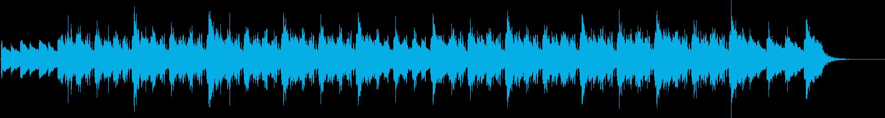 チルアウト、Lofi-Hiphopの再生済みの波形