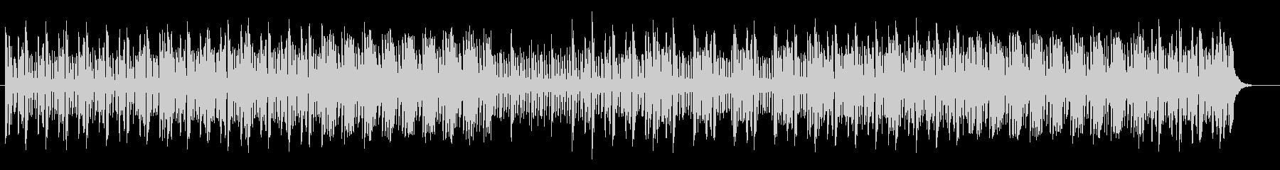 アップテンポのエレクトロポップスの未再生の波形