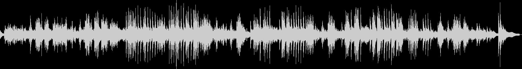 展覧会の絵より「古い城」(ピアノソロ)の未再生の波形